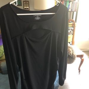22/24 Lane Bryant black dress